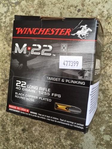 22 LR Winchester M22 40gr - 500ks